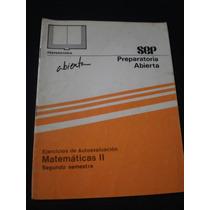 Ejercicios De Autoevaluación Matemáticas 2 , Sep
