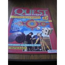 Revista Y Poster Quest De Los Números N.42 Agujeros Negros