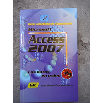 Libro Microsof Acces Los Datos En Orden