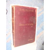 Libro Antiguo 1898, Genesis De Las Rocas, D. Gonzalo Moragas