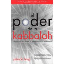 El Poder Del Kabbalah Libro