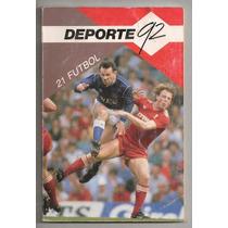 Libro Deporte92 La Historia Del Futbol 1a Ed 1989
