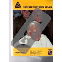 Memoria Colegio Cristobal Colon 1990-1991.juan Pablo Segundo