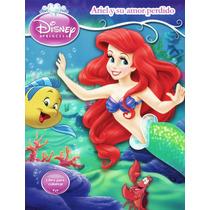 Disney La Sirenita Libro De Actividades Gratis Envio!! Ariel