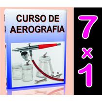 Aprende Aerografia, Pintura D Autos . 7 X 1 . Envio Gratis