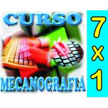 Aprende Mecanografía 7 X 1 Envio Gratis .curso De Angeles
