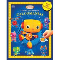Tesoro De Libros De Calcomanías: Robots