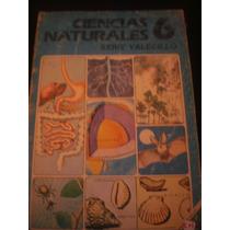 Ciencias Naturales 6 Serie Valecillo Fernández Editores