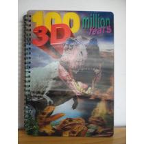 Libro Dinosaurios 3d Para Aprendizaje Para Niños