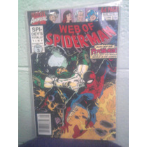 Marvel Comics Web Of Spiderman En Ingles 1990 Parte 3 Anual