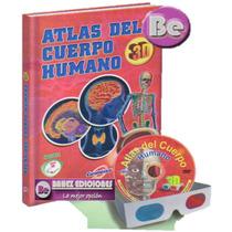 Atlas Del Cuerpo Humano En 3d 1 Vol + Dvd + Gafas Euromexico