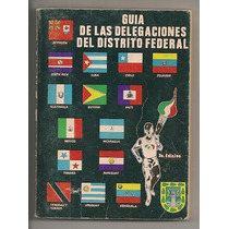 Libro Guía Delegaciones Df Juegos Panamericanos México 1975