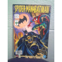 Dc Comics Batman Vs Spiderman 1 Vid Marvel Crossover Araña