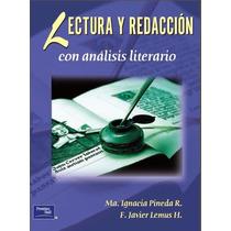 Libro: Lectura Y Redacción Con Análisis Literario Pdf