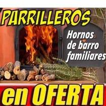 Construccion Hornos De Barro Parrilleros Estufas Planos