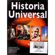 Libro: Historía Universal Envío $30