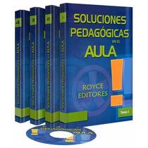 Soluciones Pedagógicas En El Aula 4 Vols + 1 Cd