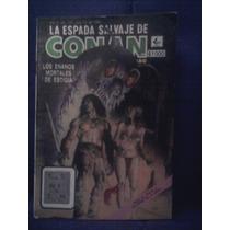 Marvel Comic La Espada Salvaje De Conan Novedades Número 107