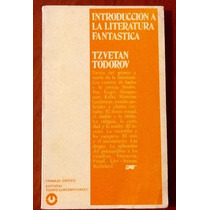 Introducción A La Literatura Fantástica Tzvetan Todorov