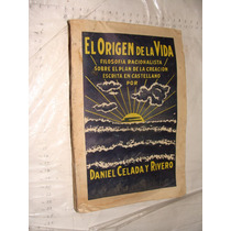 Libro Antiguo Año 1924 , El Origen De La Vida , Filosofia Ra
