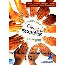 Libro: Introducción A Las Ciencias Sociales Envío $30 Ok
