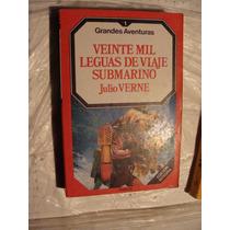 Libro Veinte Mil Leguas De Viaje Submarino , Julio Verne , G