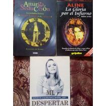 Set De 3 Libros (aline Hernandez, Gloria Trevi, Andrade)