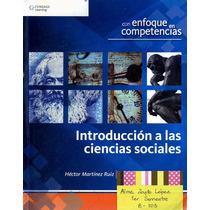 Libro: Introducción A Las Ciencias Sociales Envío $30