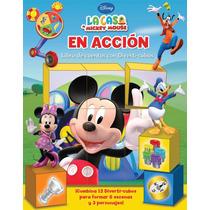Libro De Cuentos Con Diverti-cubos: La Casa De Mickey