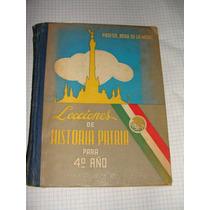 Libro Lecciones De Historia Patria Para 4to Año