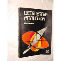 Libro Geometria Analitica , Middlemiss , 356 Paginas , Año 1