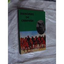 Libro Memorias De Campaña, Año 1989 , 157 Paginas