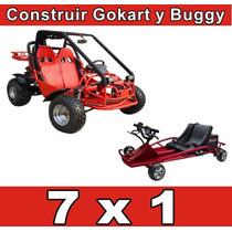 Como Construir Un Buggy Arenero Y Go Kart 7 X 1 Envio Gratis