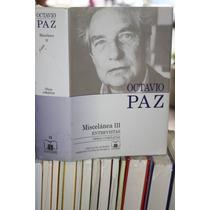 Miscelanea 3 , Tomo 15 , Obras Completas , Octavio Paz