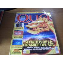 Revista Quo Secretos De La Pirámide Del Sol Mayo 2013