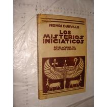 Libro Los Misterios Iniciaticos , Nenri Durville , Revelacio
