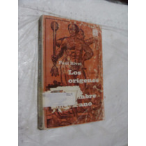 Libro Los Origenes Del Hombre Americano , Paul Rivet , 198 P
