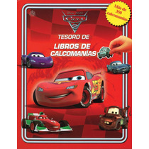 Tesoro De Libros De Calcomanias: Disney Cars 2