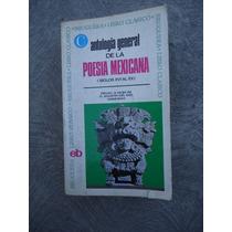 Antologia General De La Poesia Mexicana Libro Clasico 800 Pa