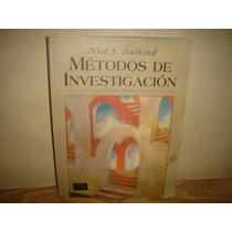 Métodos De Investigación - Neil J. Salkind