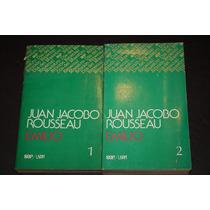 Emilio , Juan Jacobo Rousseau , 2 Tomos