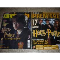 Revistas De Harry Potter De Cinemania Y Cine Premier