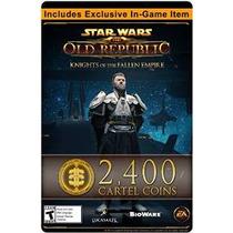 Star Wars: The Old Republic - 2400 Cartel Coins + Elemento E
