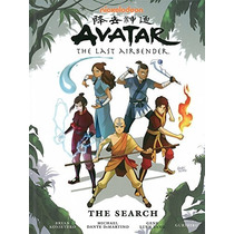 Libro Avatar: The Last Airbender, The Search Partes 1-3 En 1