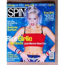 No Doubt Spin Magazine Nov 1995 Revista Usa Gwen Stefani
