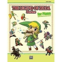 Libro De The Legend Of Zelda Series For Piano - Nuevo