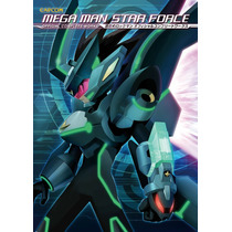Mega Man Star Force: Official Complete Works Libro De Arte