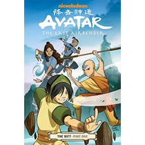 Comics Avatar: The Last Airbender - The Rift Partes 1-2 Y 3