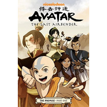 Comics Avatar: The Last Airbender: The Promise, Partes 1-2-3