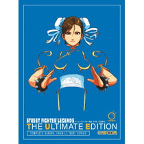 Libro Street Fighter Legends: The Ultimate Edition Nuevo Pd!